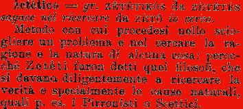 Definizione tratta dal Vocabolario Etimologico della Lingua Italiana di Ottorino Pianigiani
